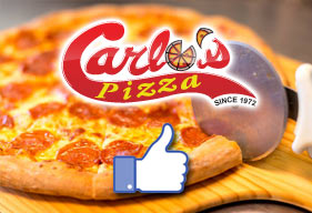 Like Carlo's Pizza On Facebook!